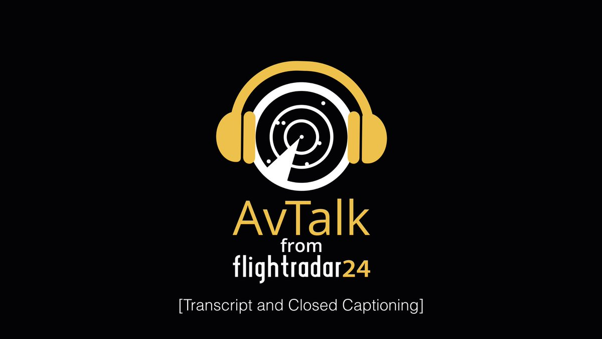 AvTalk Episode 29 now available with subtitled transcription for those who prefer enjoy the podcast that way. https://t.co/kmKx9NVADR