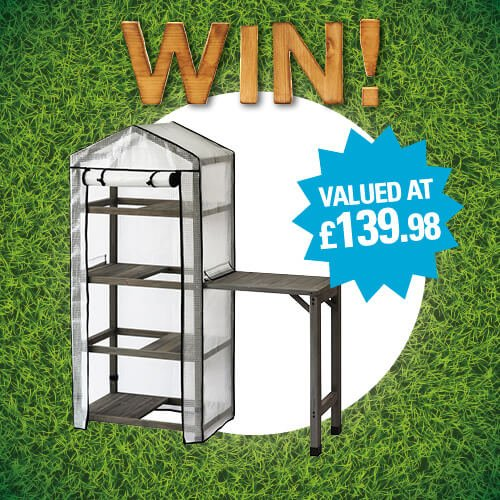 The sun is shining and its that time again! Summer Days bring Big Giveaways is here and you can win the 4-Tier Greenhouse and Side Table from VegTrug! Head to our Facebook page for more details!  bit.ly/2GApClk #win #competition #fridayfeels @VegTrug