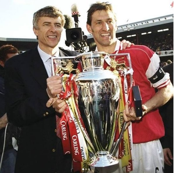 Arsène #Wenger at #Arsenal: .  22 years  1228 games  704 wins  3 Premier League titles  7 FA Cups  7 Community Shields  20 consecutive years in the #ChampionsLeague. <br>http://pic.twitter.com/Ya2UhJkJSm