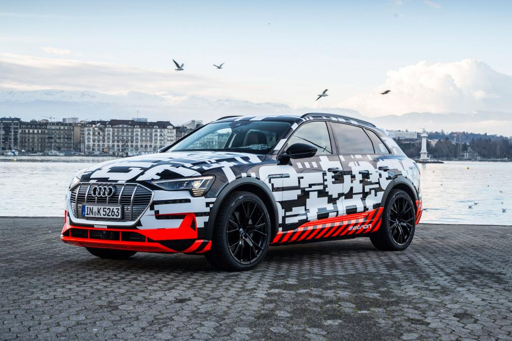 Audi S All Electric E Tron Suv Will Go On Later This Year