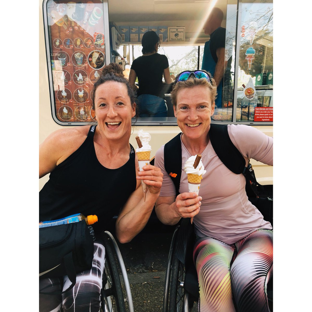 After training of course 🍦🍦#london https...