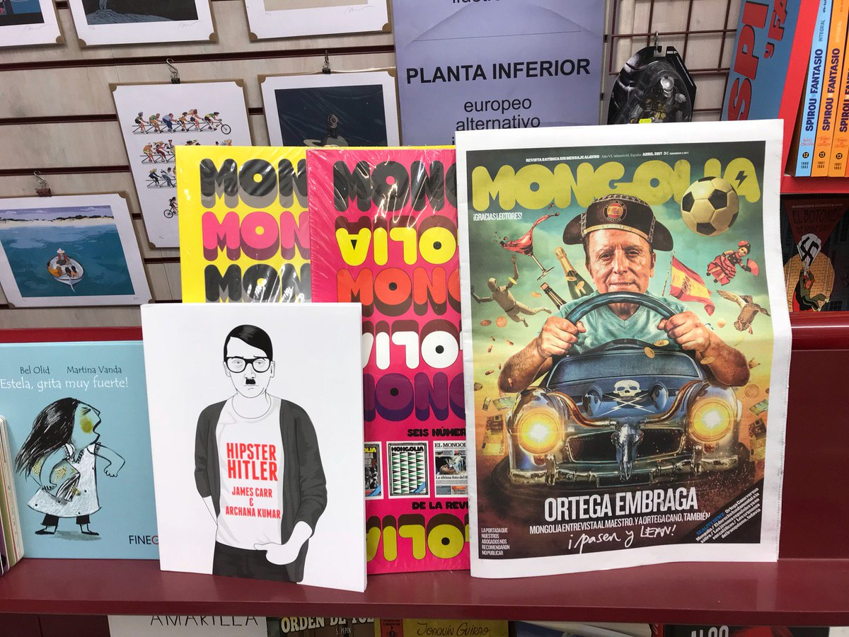 La @revistamongolia ya (at @MadridComics in Madrid) swarmapp.com/c/lIvouVyYVkn
