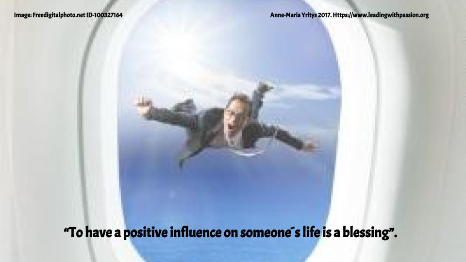 &quot;To have a positive influence on someone´s life is a blessing&quot;.  http:// bit.ly/INFLUENCE999  &nbsp;   #creativity #knowledge<br>http://pic.twitter.com/q3t9BbDkNf