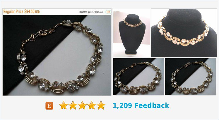 ON SALE #Signed #Lisner #Rhinestone Necklace #Designer Signed Jewelry 1950&#39;s 1960&#39;s Hollywood Regency Mad Men Mod Accessories Black Tie Formal #choker #jewelry #necklace #fashion #collectible #vintageshop #martinimermaid #etsy #etsyseller #smallbiz   https://www. etsy.com/MartiniMermaid /listing/608822535/on-sale-signed-lisner-rhinestone?ref=shop_home_active_4 &nbsp; … <br>http://pic.twitter.com/pApFyM982K