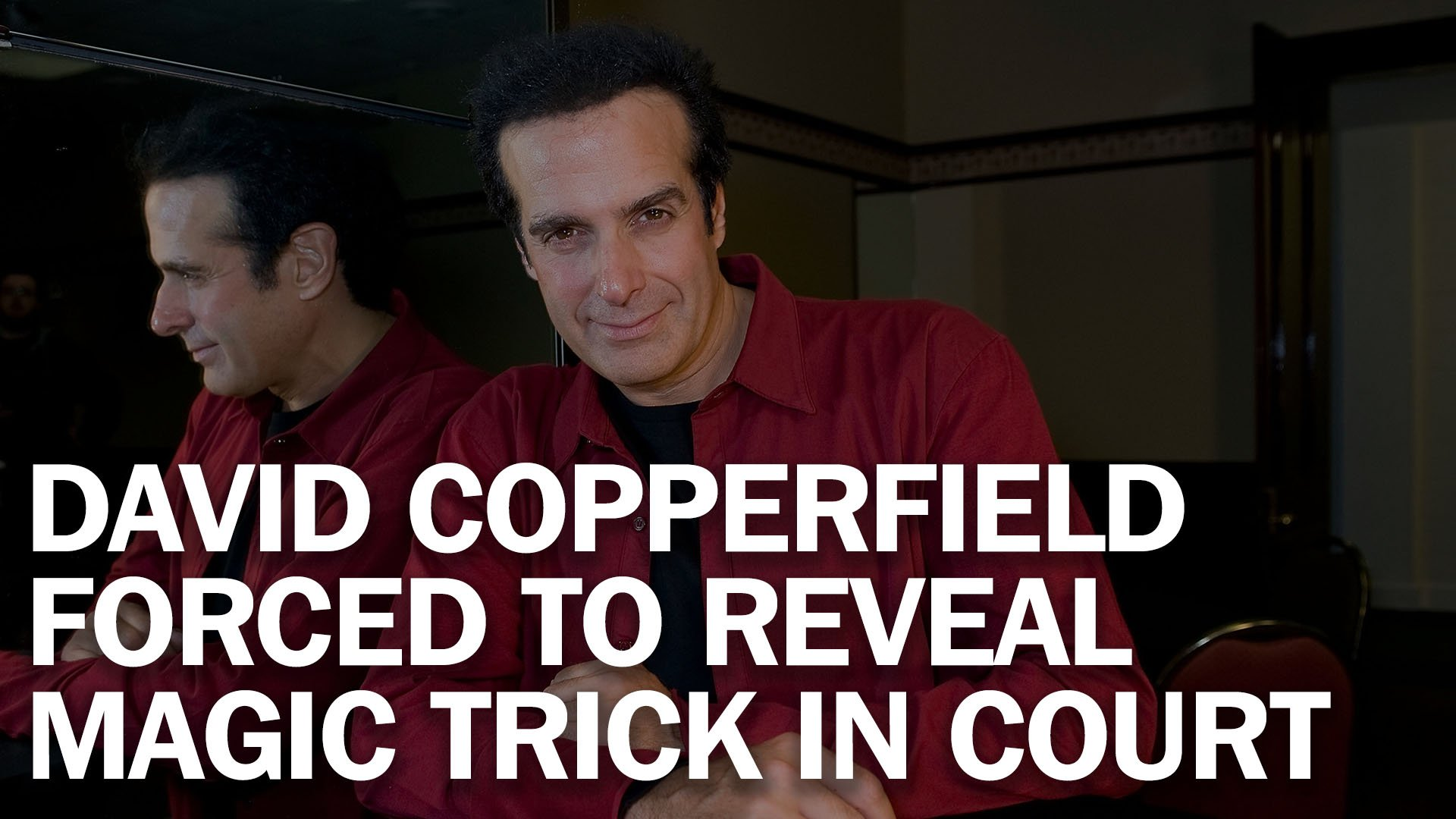 David Copperfield forced to break the magicians code in court https://t.co/rWGSJQuXgt https://t.co/0T3nNSqKj0