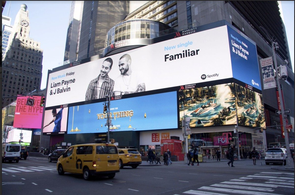 Times Square is looking...#Familiar Than...