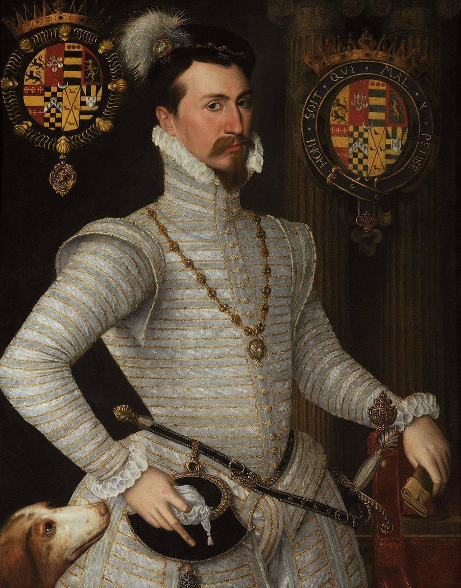 ▶️ Auprès d'Elisabeth Ire, Robert Dudley joue un rôle très important en tant que favori, si bien que William Cecil va s'en inquiéter ! La mort de l'épouse de Robert Dudley va le placer en position de suspect : veut-il épouser la reine ? 🤔 #secretsdhistoire