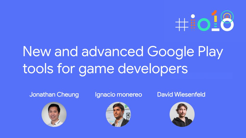 Learn more about the latest improvements to #GooglePlay and the #PlayConsole that will help you launch and grow sustainable games.   🗓 Attend in person, or follow the #io18 livestream May 8th → goo.gl/13J5oz
