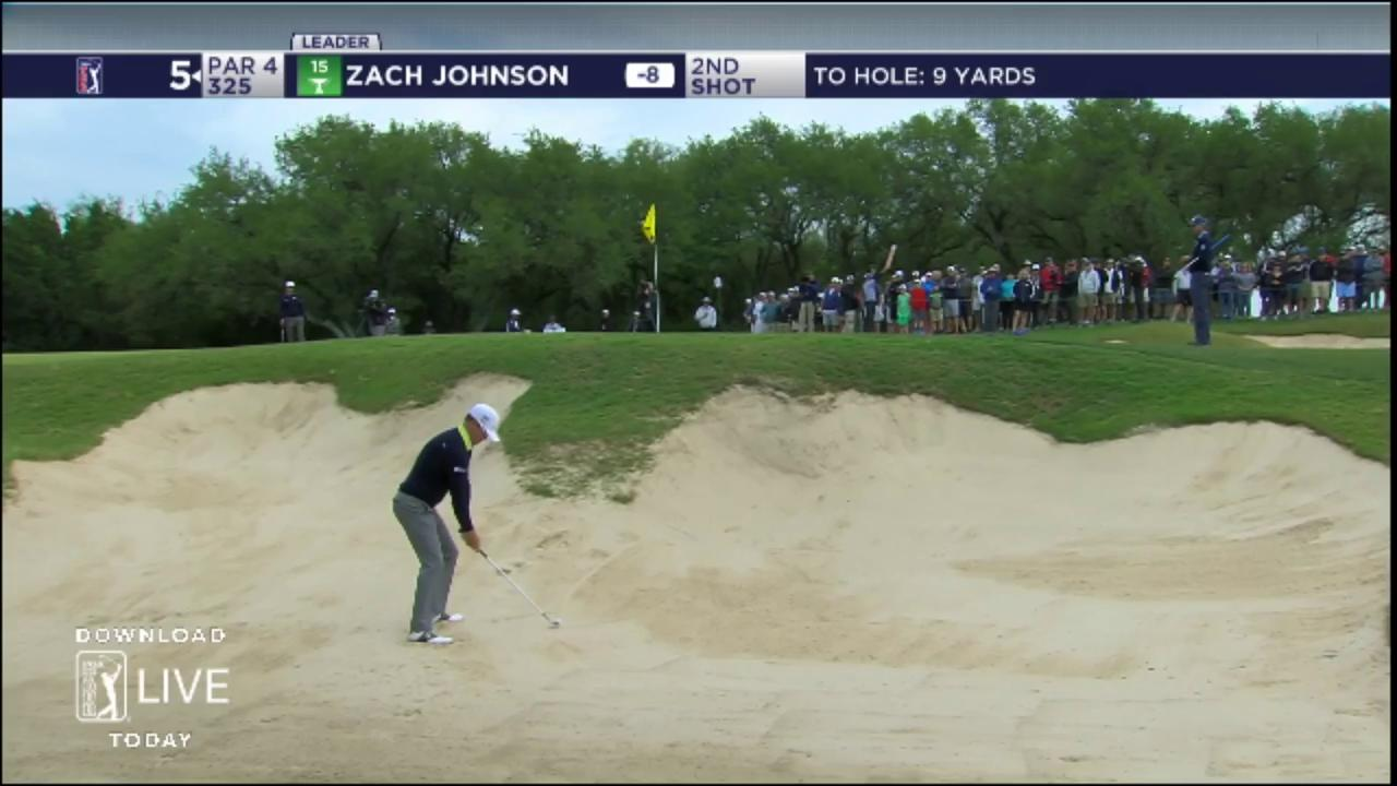 'Go in.'  @ZachJohnsonPGA can't be stopped!  He's -8 thru 14 holes today. #QuickHits https://t.co/OVAfJFx4SA