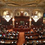 Image for the Tweet beginning: The IL House of Representatives