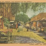 Image for the Tweet beginning: Olvera Street opened #OTD in