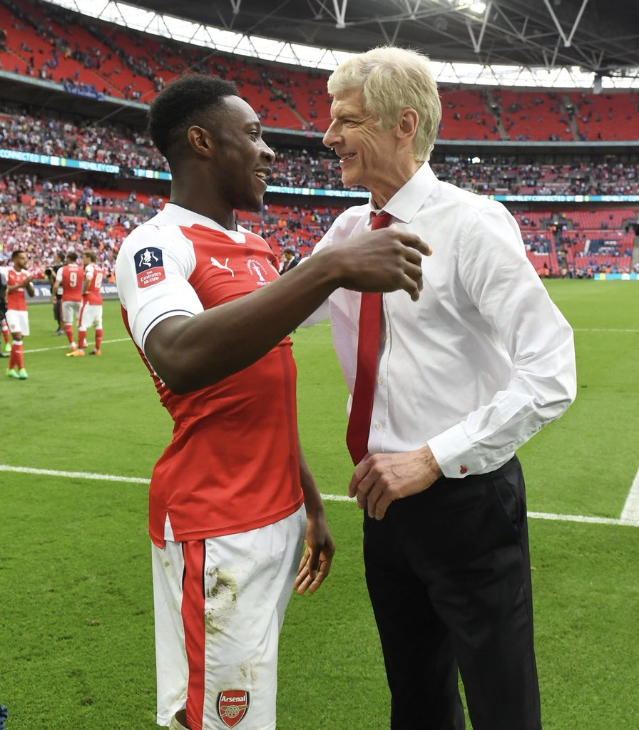 Feel privileged to have worked under such a great manager. A true gentleman and an innovator of the game. We will fight until the end for you #MerciArsène