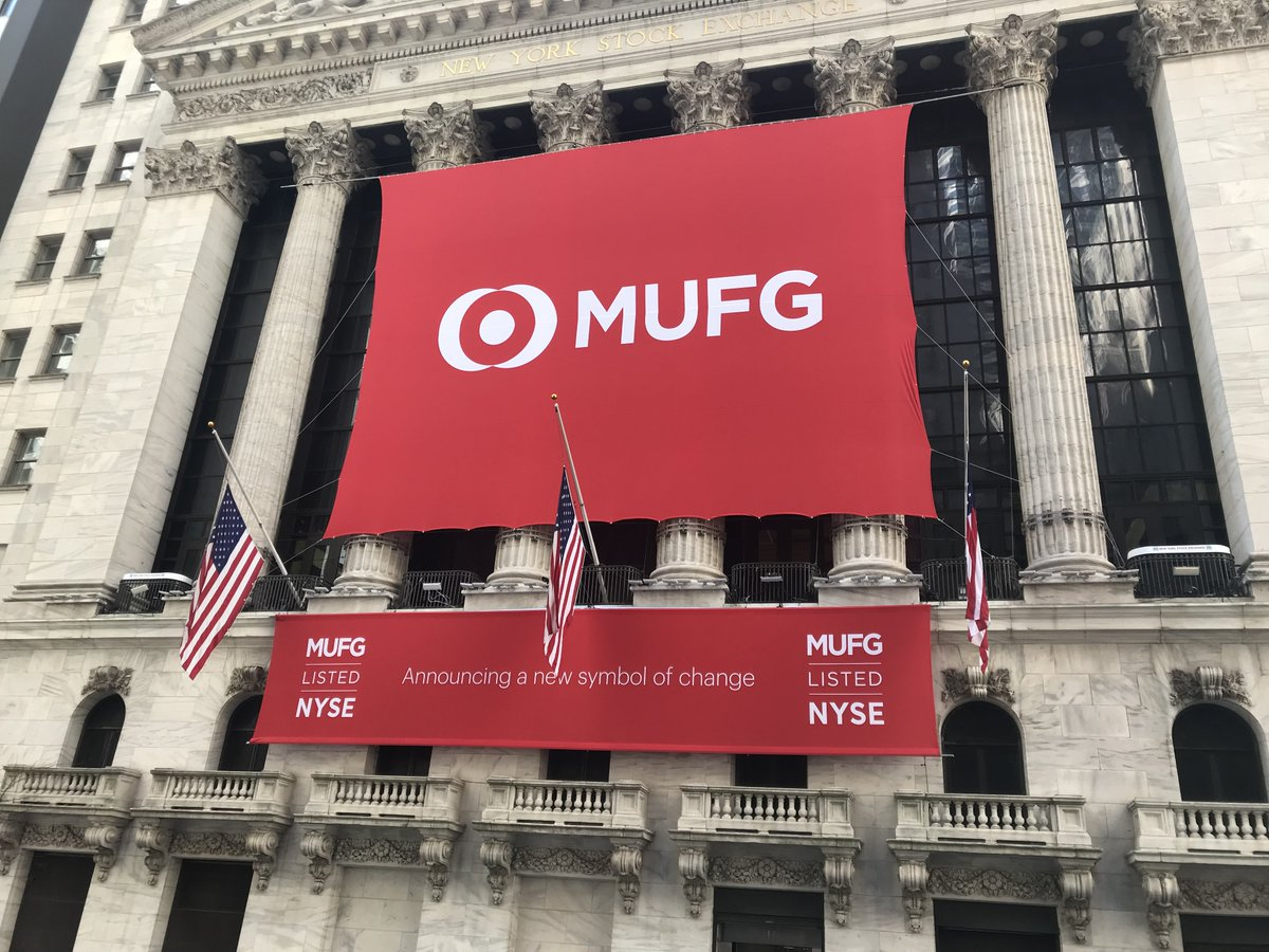 Mufg Americas On Twitter Were Honored To Ring The Closing Bell
