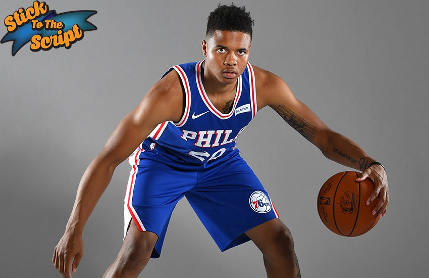 Stick to the Script: Markelle Fultz Markelle Fultz has had a roller coaster ride of a rookie season, but hes certainly having a peak moment.  By @axgilbert  hoop.nba.com/nba_hoop_low_p…