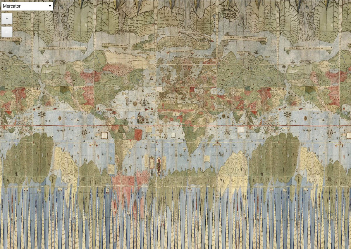 1587 World Map.David Rumsey On Twitter Explore Over 20 Different Live Projections