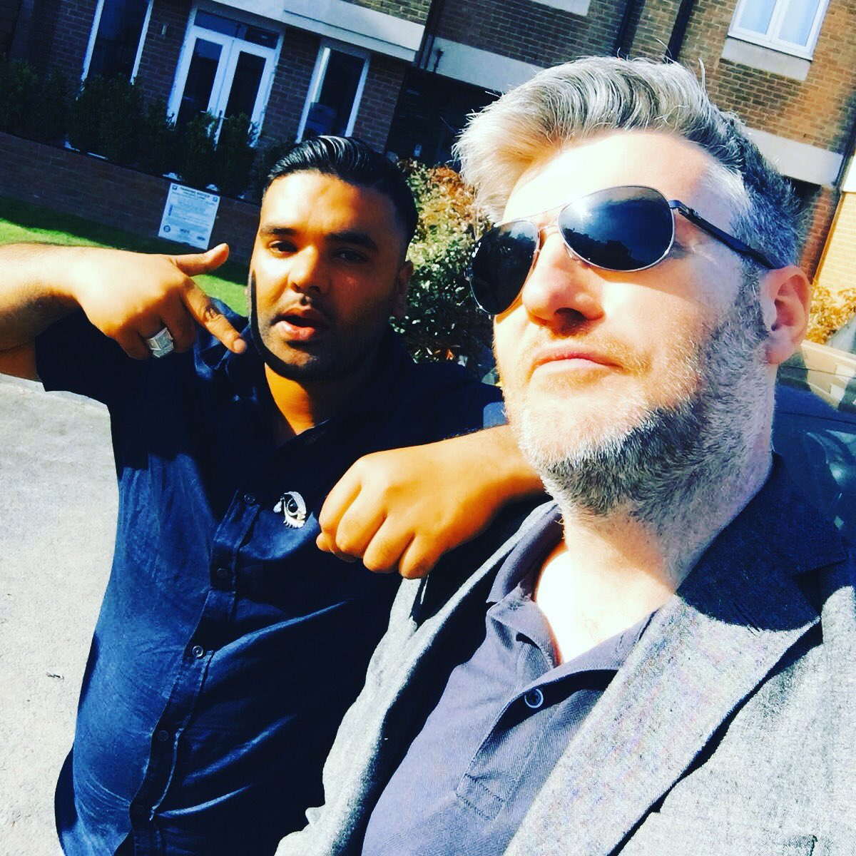 It was a pleasure to meet you sir 👊🏽@charltonbrooker #genius #blackmirror #ifyouknowyouknow