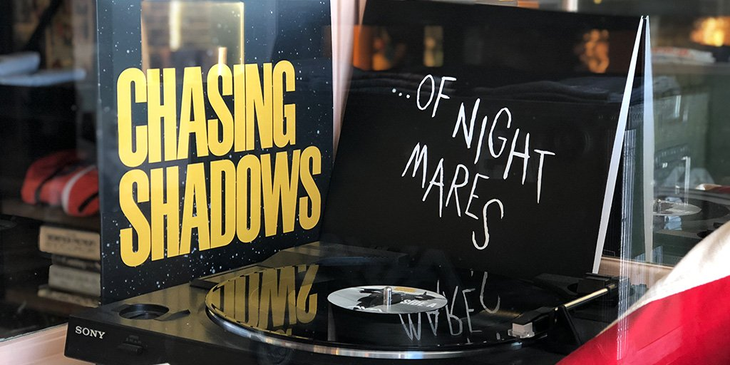 We are celebrating #RecordStoreDay all weekend long with a combo pack of our novel EPs on vinyl. Get ...Of Nightmares and Chasing Shadows together for only $24... and we have a few The Dream Walker vinyl left too : ) tothestars.media/collections/mu…