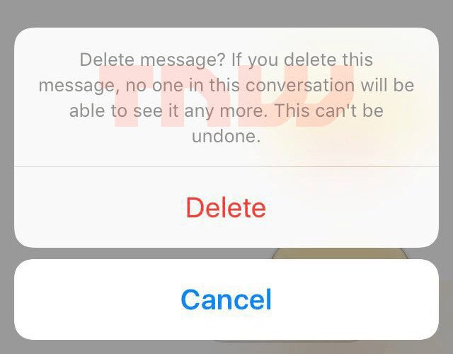 This is what Facebook Messenger's Unsend message button will look like https://t.co/7zSxVXeEEn
