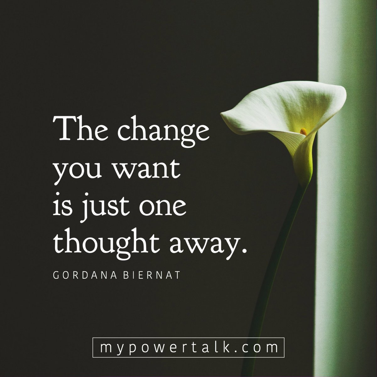 The #change you want is just one #thought away  via @MyPowertalk  #ThinkBIGSundayWithMarsha #InspireThemRetweetTuesday #Life #JoyTrain #IQRTG #Love  #FridayFeeling #SaturdayMotivation #SuperSoulSunday #MondayMotivation #TuesdayThoughts<br>http://pic.twitter.com/AHGlxqqTFk