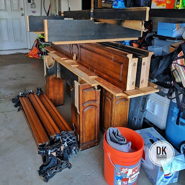 DK Billiards On Twitter Foot Golden West Pool Table Upstairs - How to move a pool table upstairs
