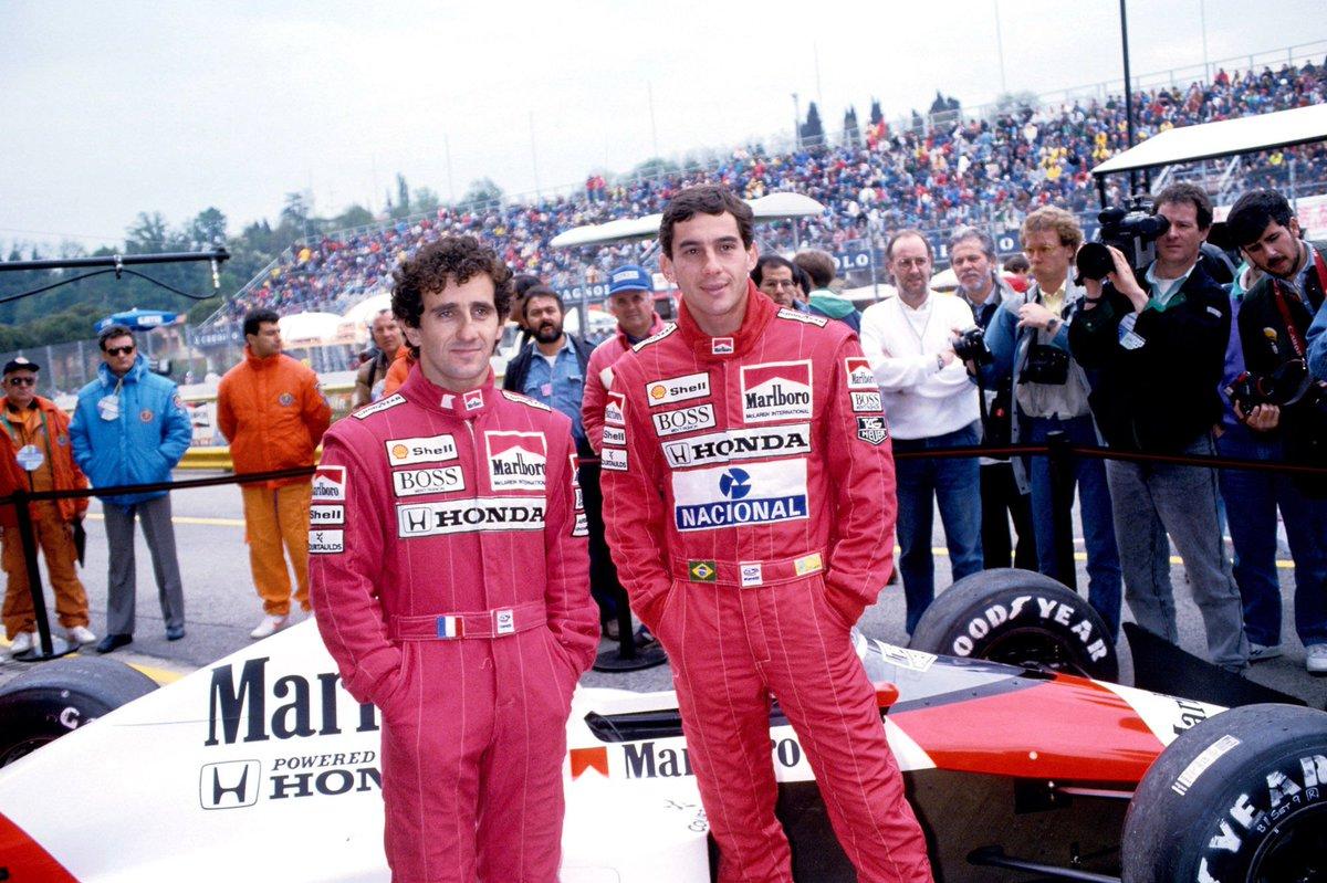 Alain Prost/ Ayrton Senna, McLaren MP4/5...