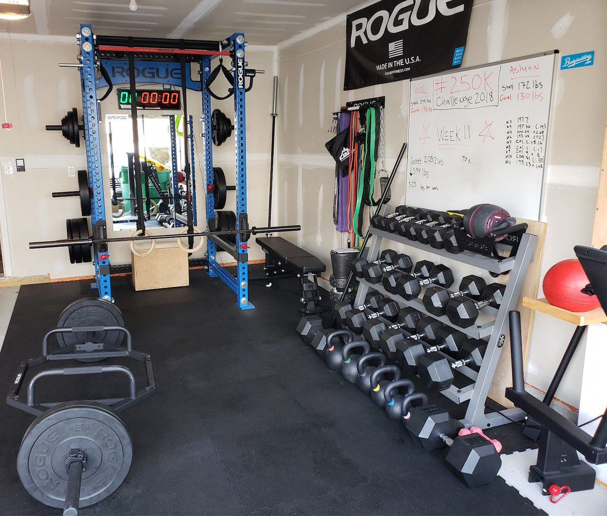 Rogue Fitness on Twitter Garage gym courtesy