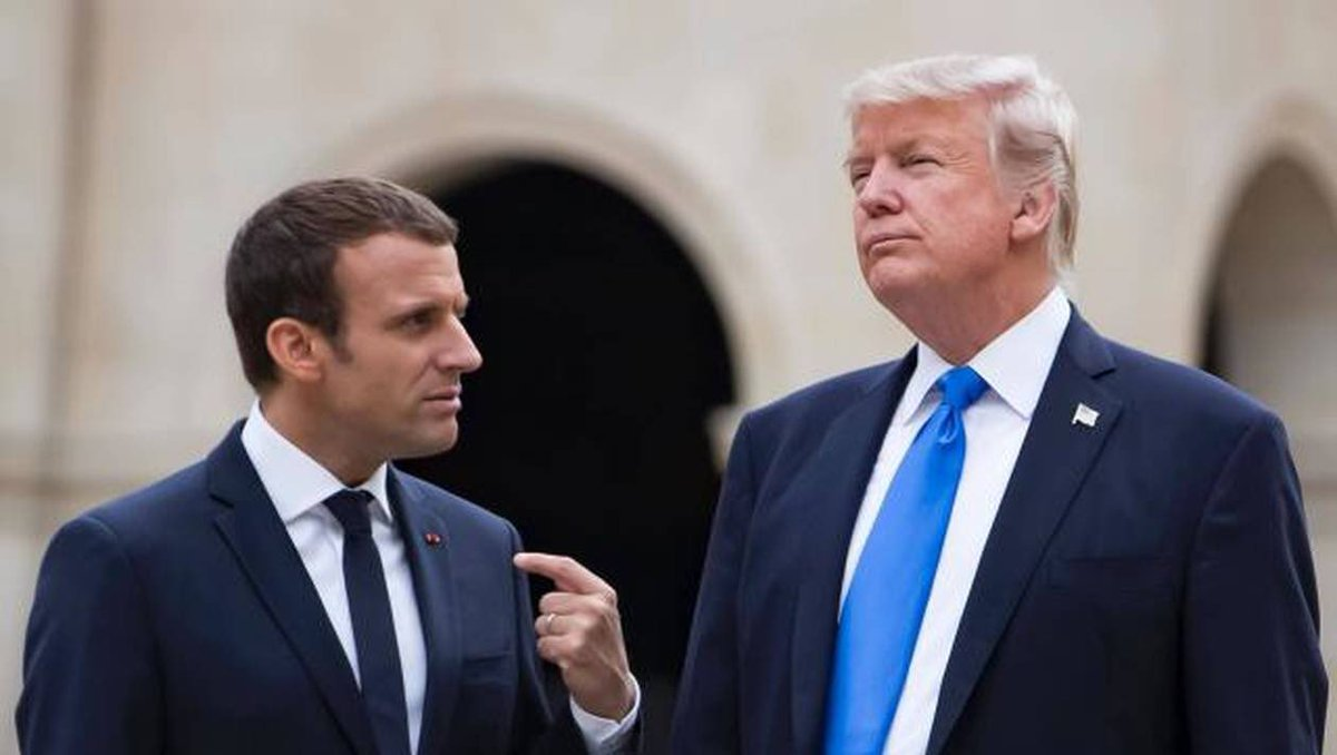 Dimanche dan #CASCADs   1️⃣ Macron en visite d'Etat aux Etats-Unis : quel avenir pour la relation transatlantique ?  🔵 François BUJON DE L'ESTANG Ancien ambassadeur de France aux États-Uni @DavidAbikers