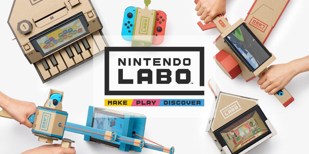Press Release: Nintendo Labo Is Out Today - https://t.co/kBXTXU8hLF https://t.co/ImGK2SC5KA