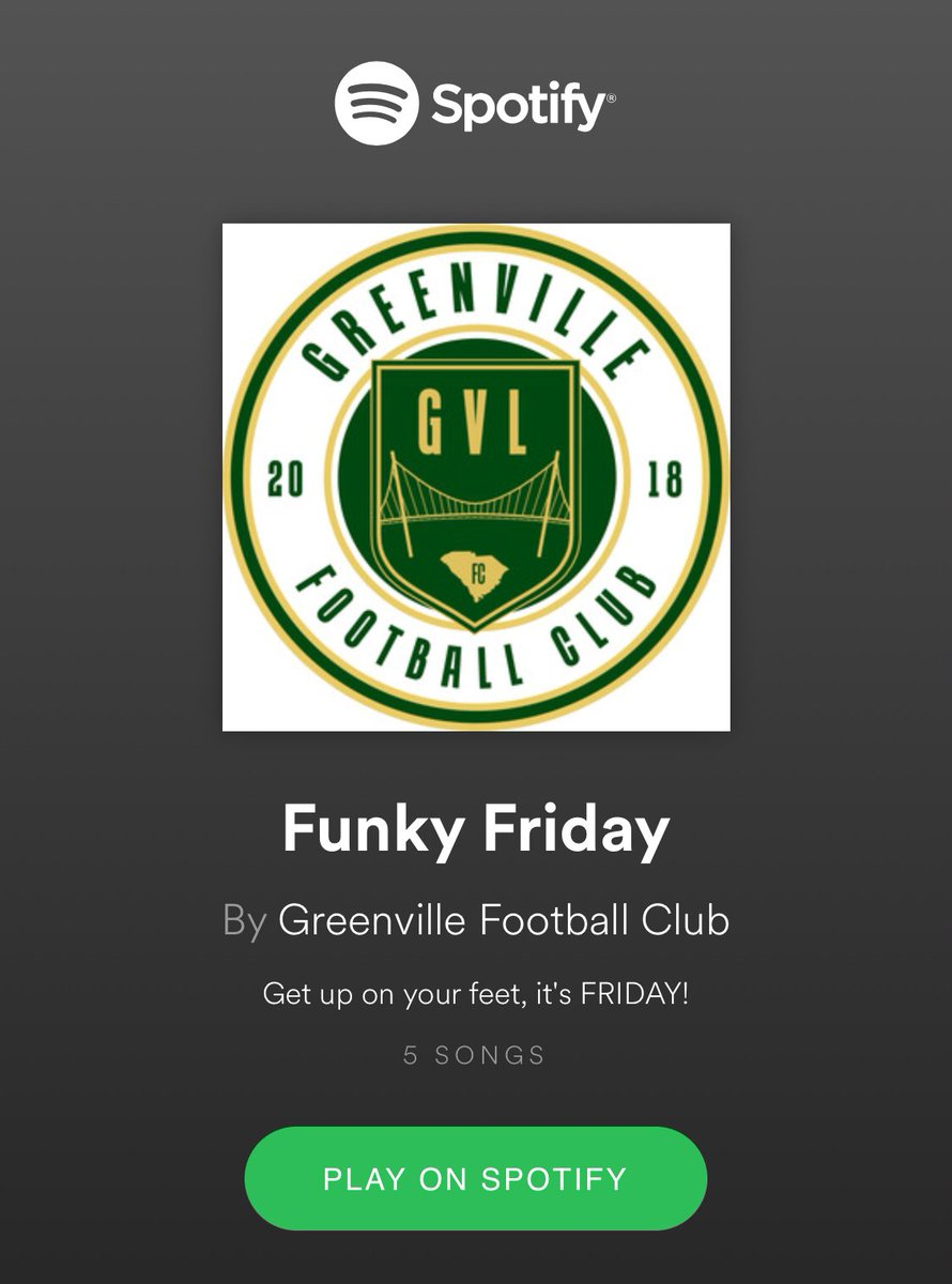 Greenville FC 🔰 on Twitter: