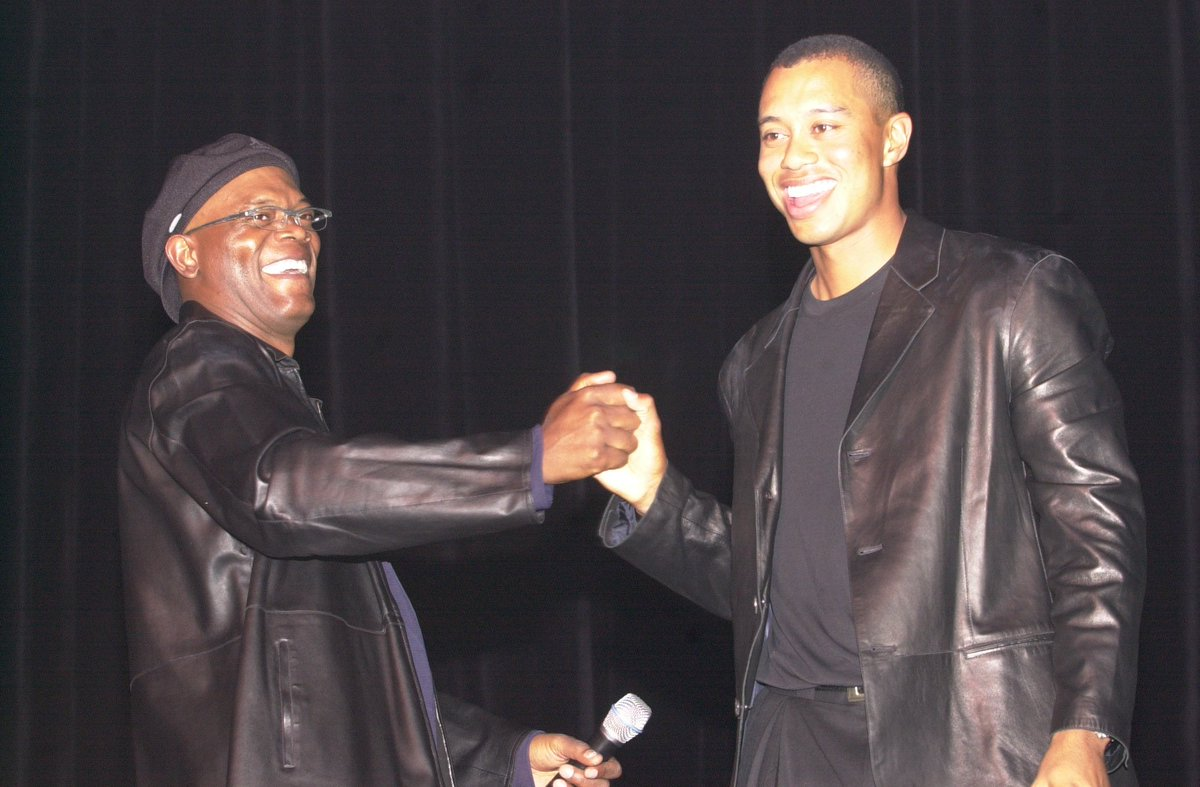 Whether its sports stars like @Jumpman23 and @kobebryant or Hollywood favorites like @SamuelLJackson and @prattprattpratt, 20 years of #TigerJam means 20 years of celebrities coming together to support @TGRFoundation | news.tigerwoods.com/tiger-jams-cel…