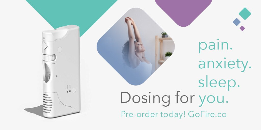Introducing GoFire, #PrecisionDosing that helps get you through the day.   GoFire is now available for pre-order. Visit  http://www. gofire.co  &nbsp;   to get yours for $150 off while supplies last.   #GoFire #GoLive #DoseControl #AlternativeHealth #GetYours<br>http://pic.twitter.com/IVqKoQdcma
