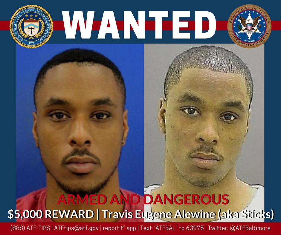 ATF Baltimore raise reward to $5,000 each on three murder suspects https://t.co/C6C0UQXpml