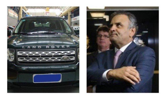 Blitz da Lei Seca revelou que Aécio usava Land Rover em nome de rádio citada por Joesley: https://t.co/g0XFntXrPS