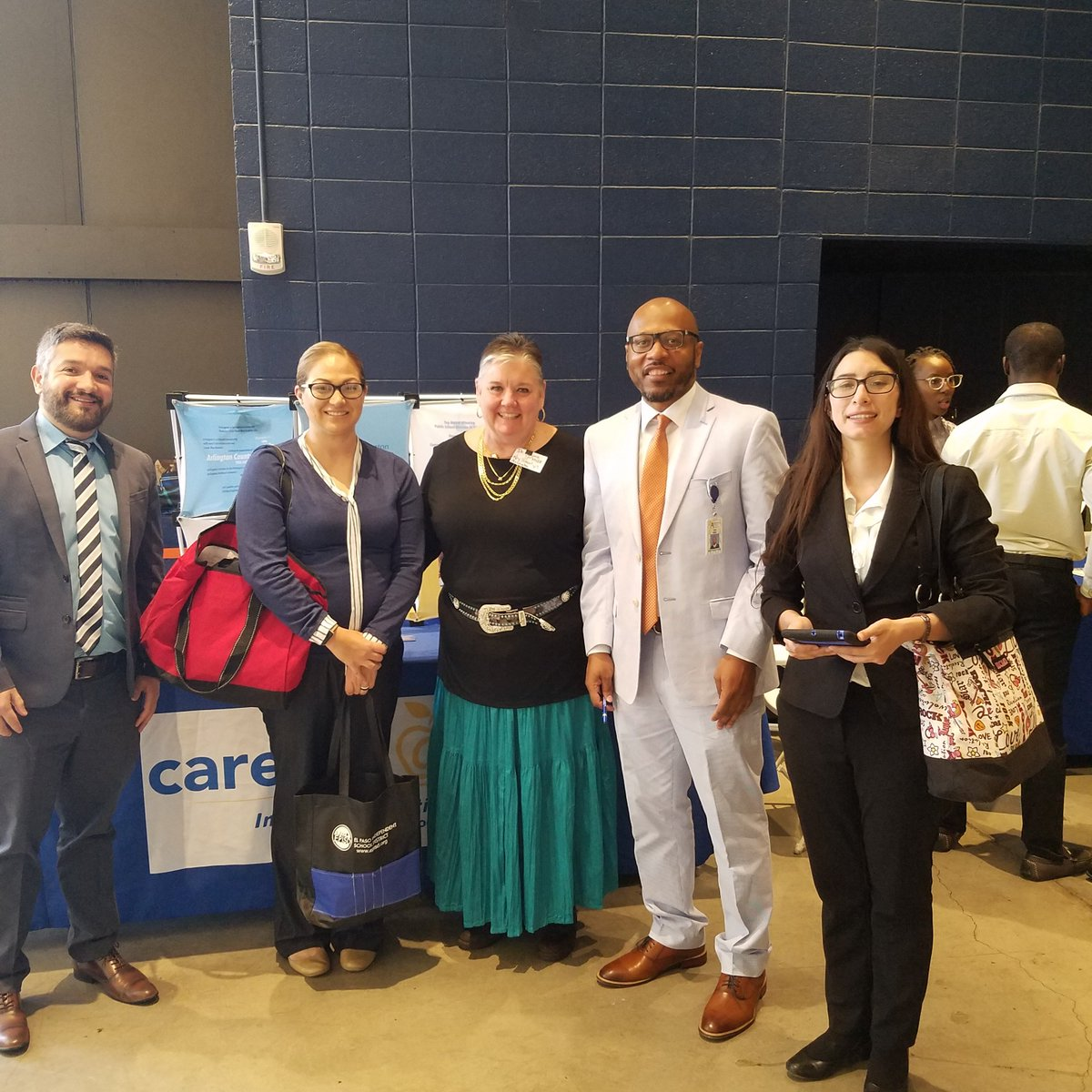 Marjorie, Carlos and Corey recruiting at The University of Texas at El Paso. <a target='_blank' href='https://t.co/7B8hvLudGD'>https://t.co/7B8hvLudGD</a>