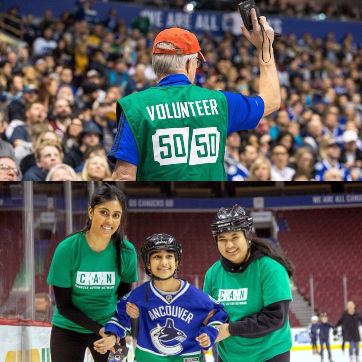 A personal thank you to all the people who generously volunteer their time to help @Canucksforkids and @canucksautism do great work in the community. You are appreciated!  #NationalVolunteerWeek2018 <br>http://pic.twitter.com/67KsbUsm9e