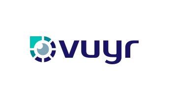 http:// Vuyr.com  &nbsp;   An intrepid name derived from the word &#39;viewer&#39;. Vuyr: An analytics platform. An optometry brand. A #virtual reality company. A research facility. A photography studio. An app. A media buyer. A gadget. #brandable #domain <br>http://pic.twitter.com/bswrFEKtFn