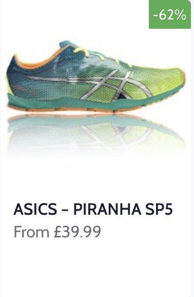 #asics piranha hashtag on Twitter