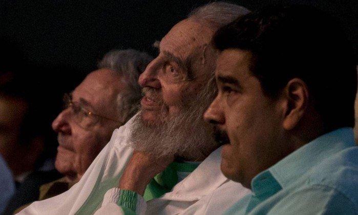 Maduro vai a Cuba para 'ratificar alianç...