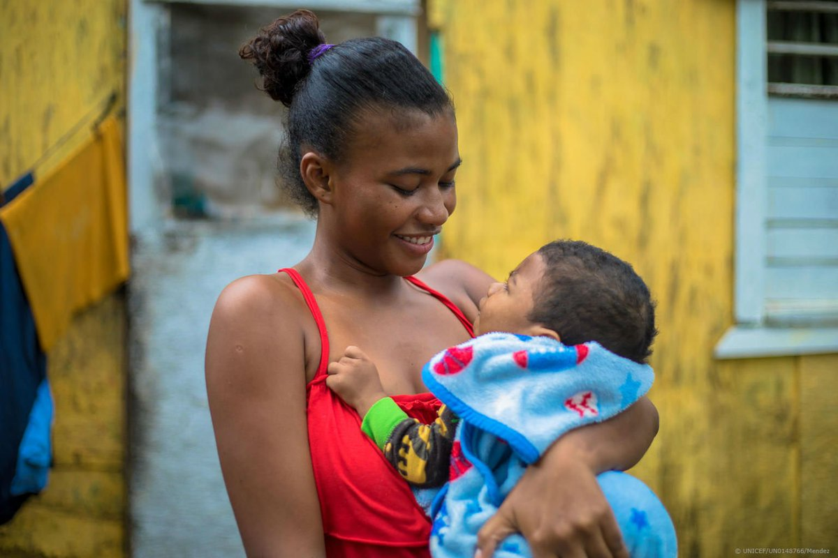 """test Twitter Media - 18-month-old Jaycean was diagnosed with cerebral palsy in Belize.  """"The doctors told me it was bad… but now he smiles, he cuddles, I thought he'd never be able to show his emotion but he does,"""" says his mother Ashley.  #EarlyMomentsMatter, for every child.    #1000DaysOfLove https://t.co/TrajNr8GKu"""