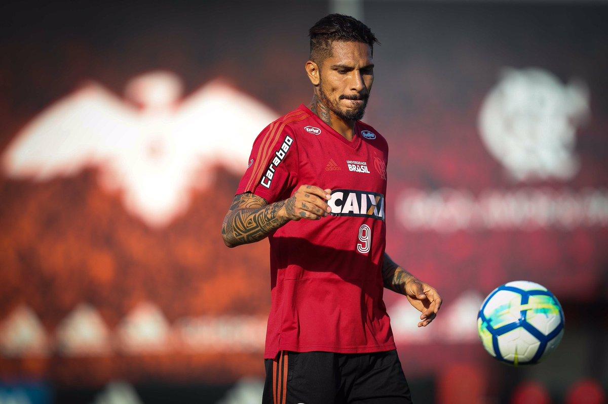Guerrero no treino de hoje (20/04). http...
