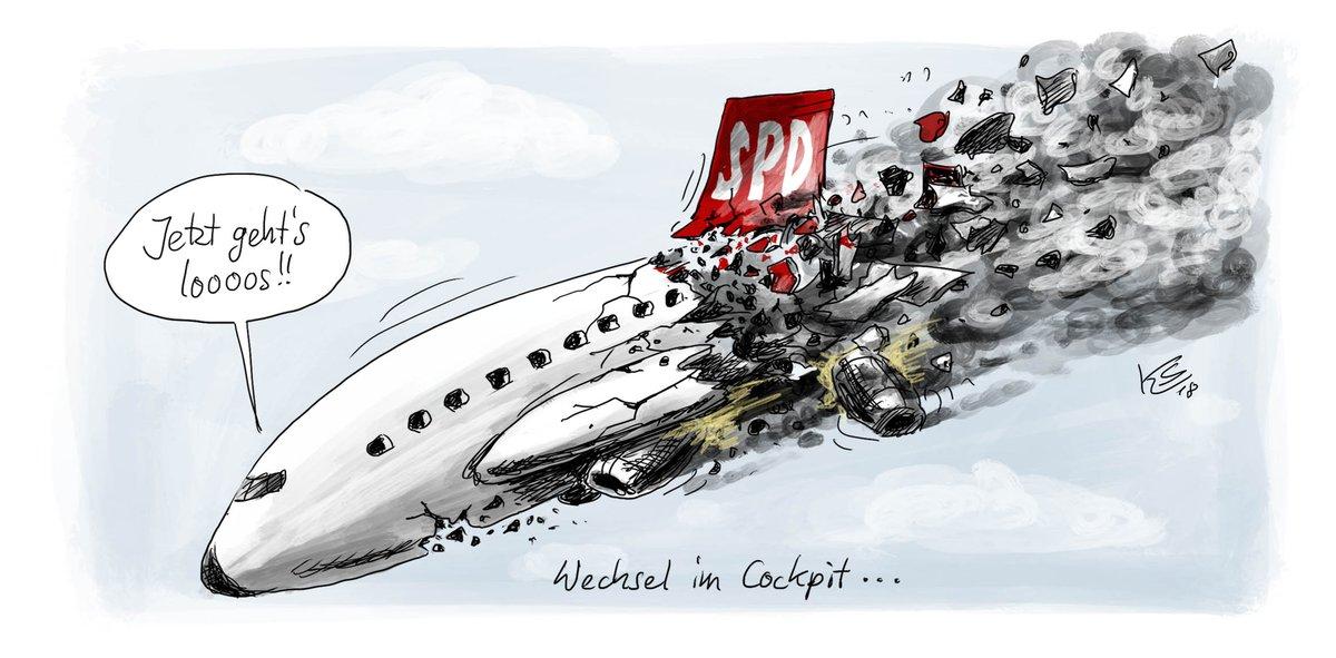 #Stuttmann zum Wechsel in der #SPD.