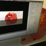 Image for the Tweet beginning: On prépare les rendus 3D