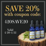Happy 4-20! This weekend only- save 20% store-wide with coupon code '420SAVE20'! https://t.co/9qbaVHsF2m #nectarcbd #cbd #cbdoil #nectarsweet #hemp #hempextract #hempoil #fullspectrum #distillate #sustainable #organic #cannabis #colorado #science #nature #natural #healthy #420