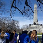 Image for the Tweet beginning: Visiting Lincoln's tomb #7thGrade #SpringfieldTrip