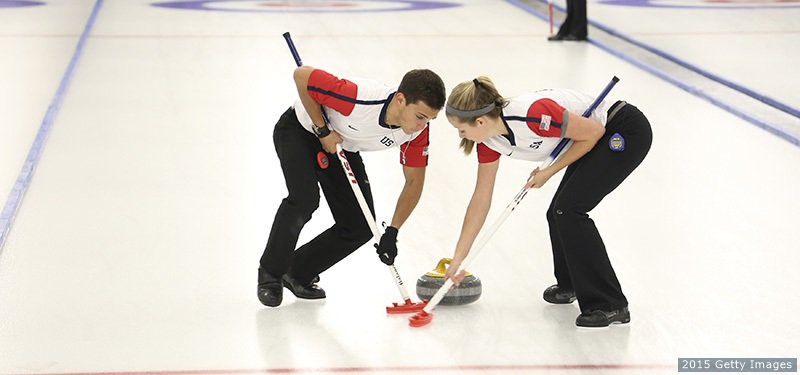 .@usacurl Youth Olympians Sarah Anderson & Korey Dropkin open play tomorrow in the World Mixed Doubles Curling Championship!   LIVE: 3 p.m. ET Sunday on the    @olympicchannelhttps://t.co/bxSwwtWTpZ
