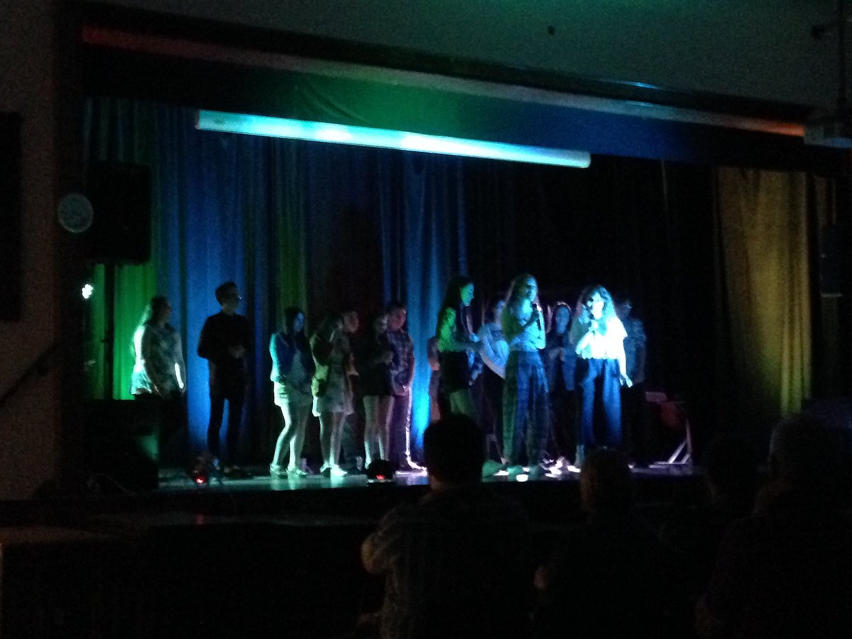 Here are our pupils, performing in a show they organised  entirely themselves. Well done to all of them! #LshsEnrichment