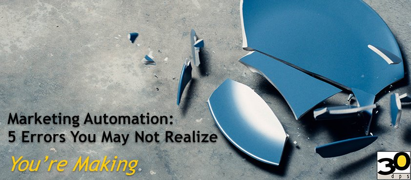 #NEW Marketing automation: 5 errors you may not realize you're making #marketingautomation  http:// bit.ly/2Hh3mdq  &nbsp;  <br>http://pic.twitter.com/nO20taAJKg