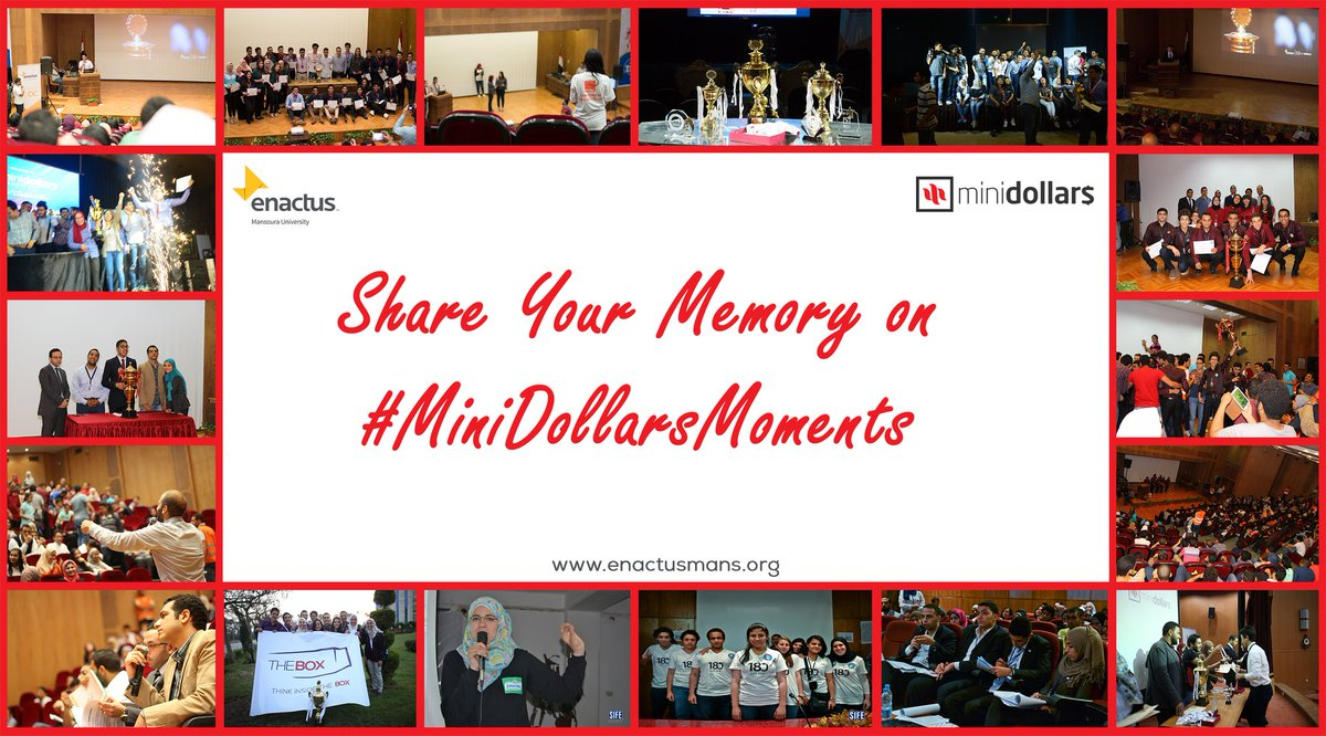 Feeling nostalgic? Share your MiniDollars moments with us using the hashtag #MiniDollarsMoments, and Re-live the memories!  #enactus #enactusmans #business #entrepreneur #MiniDollars #ClassOf2018 #MiniDollarsMoments<br>http://pic.twitter.com/Pnx17Ji7Ir