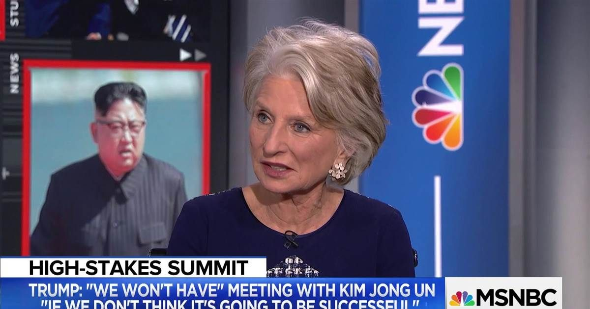 """President of the Wilson Center Jane Harman, who visited #Pyongyang during her time as a Democratic Congresswoman, tells Ali Velshi why the Trump administration may have a tough time negotiating in #NorthKorea, particularly with """"denuclearization."""" https://t.co/ARVds3kCsU"""