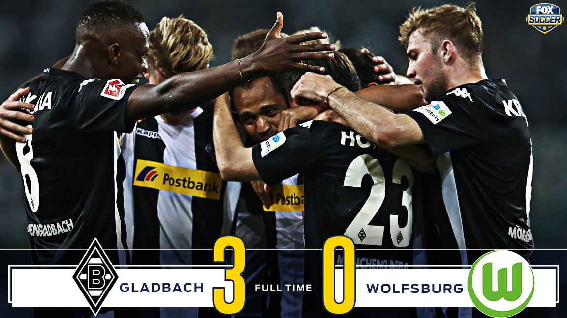 Gladbach get their revenge with a dominant win at home against Wolfsburg!
